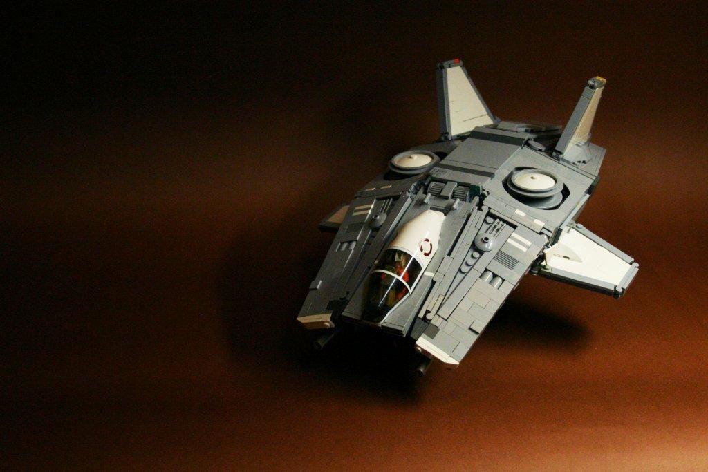 V/STOL Gunship : Drifting Shield by Anto-Nio