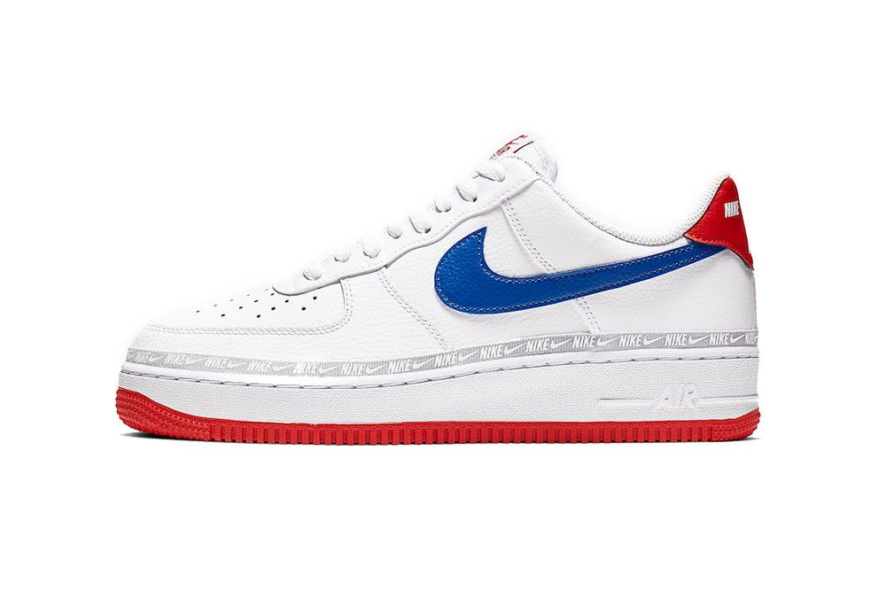 Nike Air Force 1 Gets Patriotic With Red White And Blue Hues