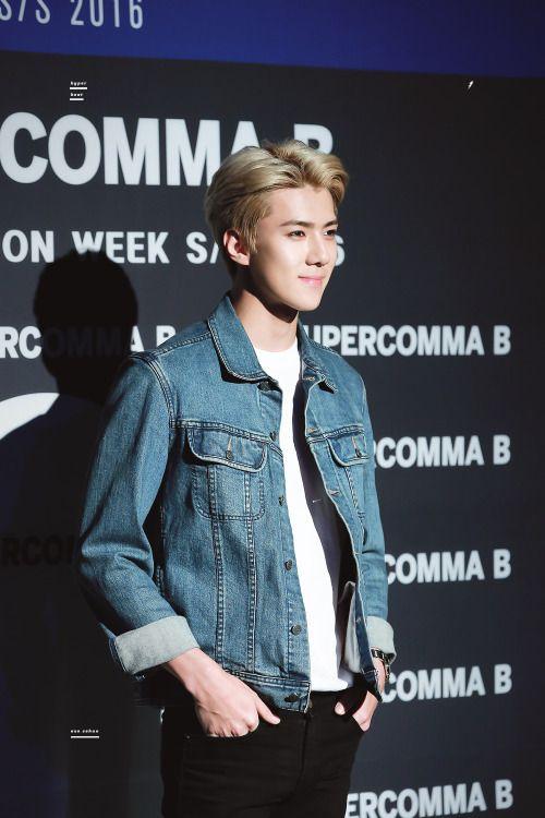 Sehun - 151019 2015 Seoul Fashion Week - 4/38 Credit: Hyper Beat. (2015 서울패션위크)
