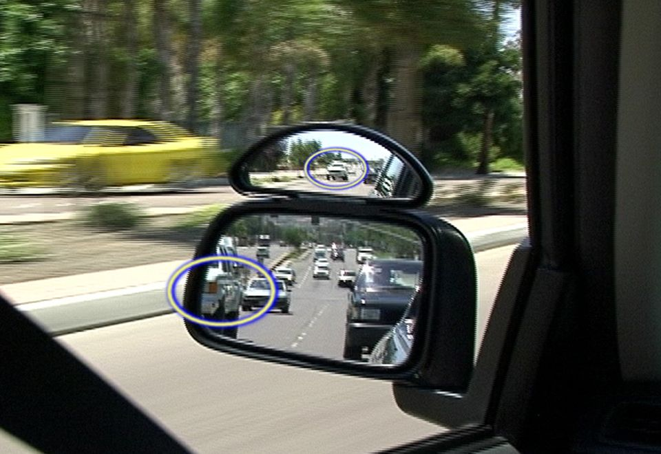 Wide View Side Mirrors (Set of 2) @ Sharper Image
