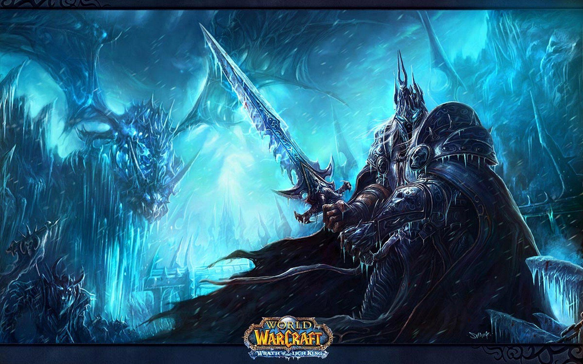 World Of Warcraft Desktop Wallpaper: Lich King HD Wallpapers Backgrounds Wallpaper