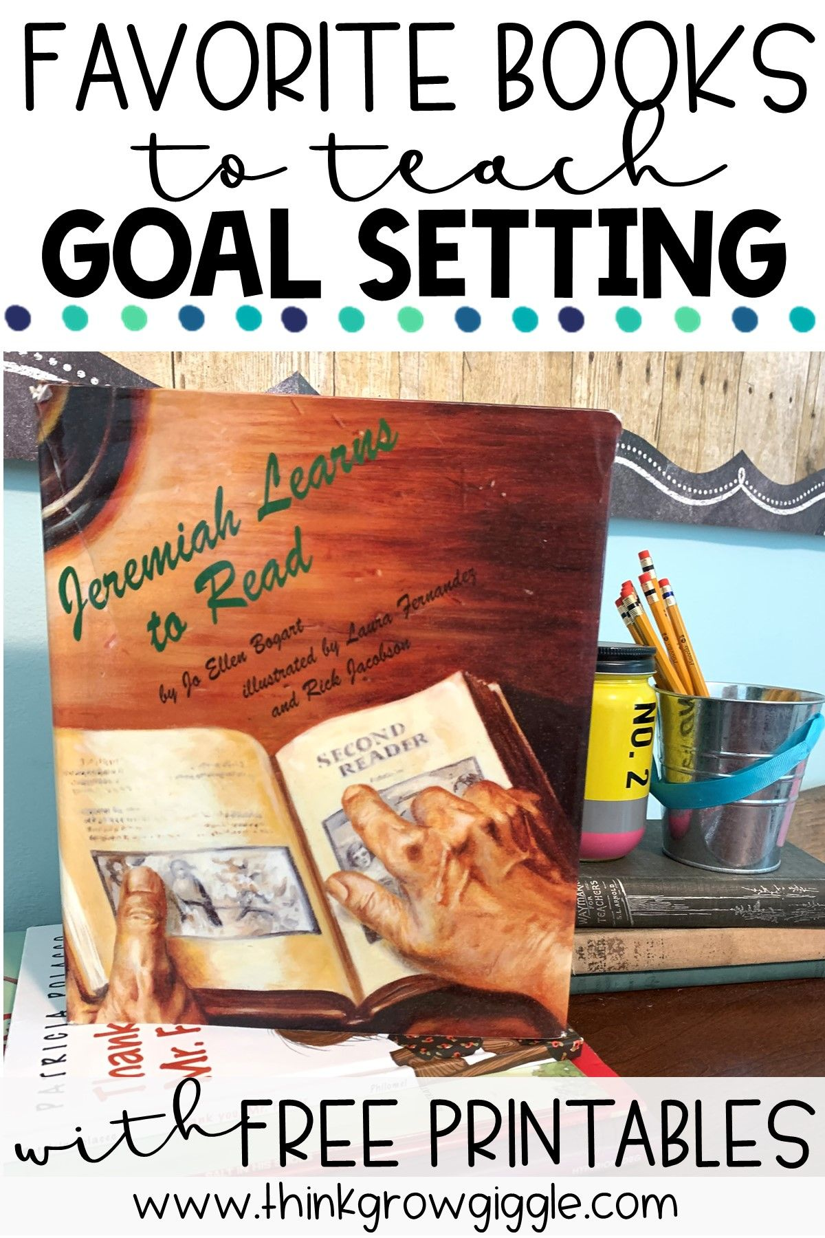 Goal Setting Picture Books For Kids In