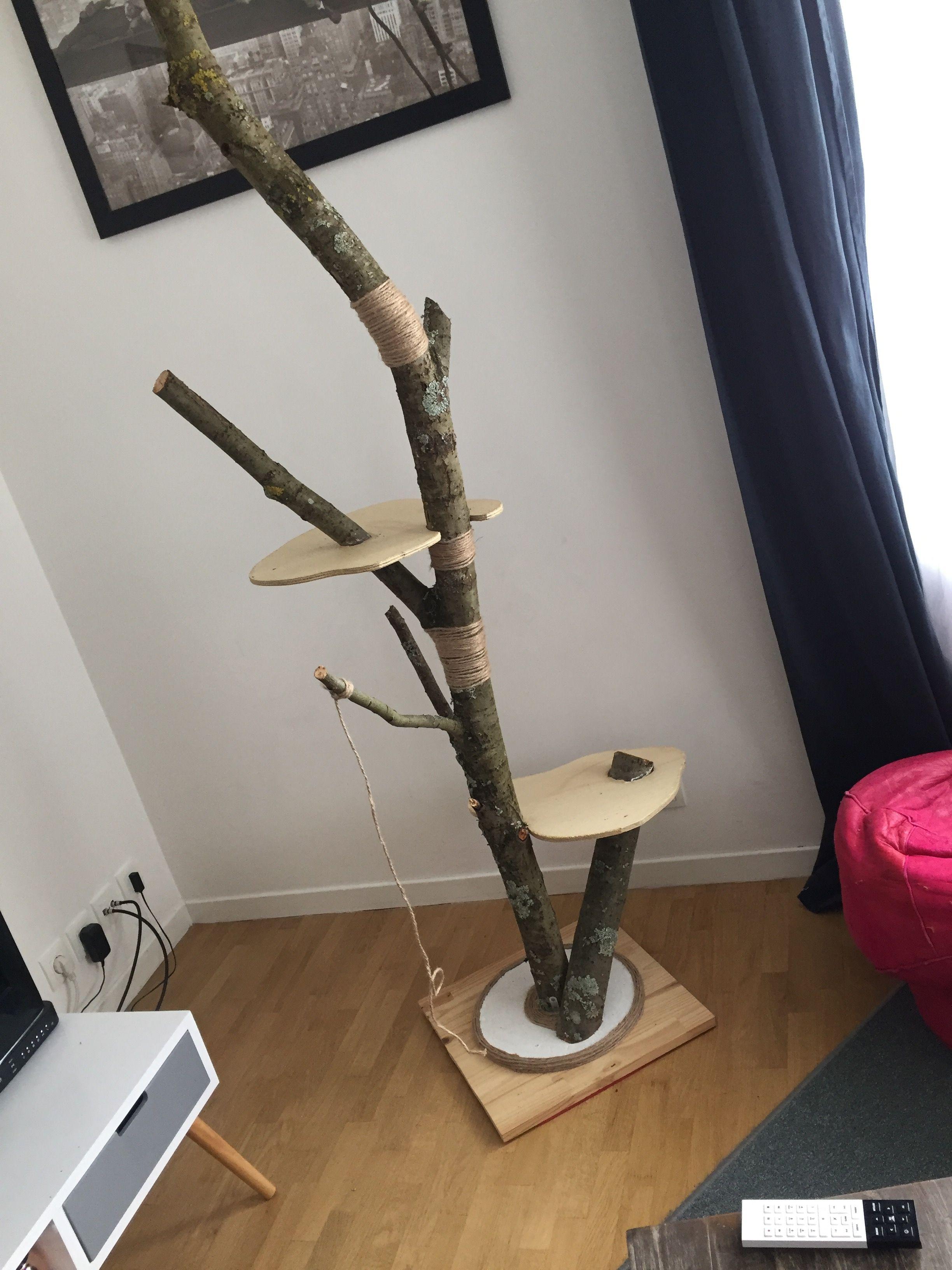 Arbre A Chat A Faire Maison arbre à chat fait maison #diy | arbre a chat, arbres à chat