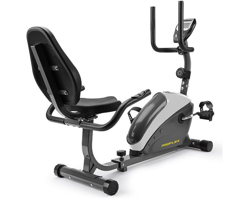 Proflex Magnetic Recumbent Exercise Bike Fitness Cycle Trainer