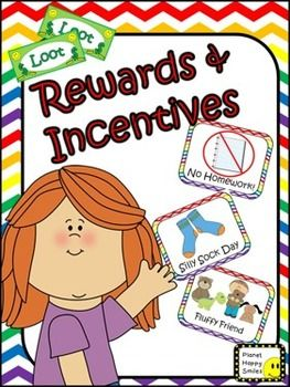 This product contains a fantastic system of rewards and incentives.Many of them are little or no cost to the teacher.  Some of the ideas could be supplied by donations. Have fun setting up your own system.We put a ton of thought into a variety of ideas to add to this product and know there are many more great ideas out there.