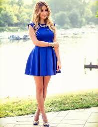 769371aa0 Resultado de imagen para vestidos simples pero a la moda 2016 ...