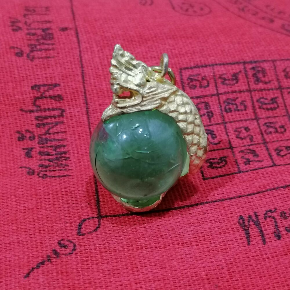 7 Color Naga Eye Ball Mini Holy Protect Lucky Wealth Pendant Thai Magic Amulet