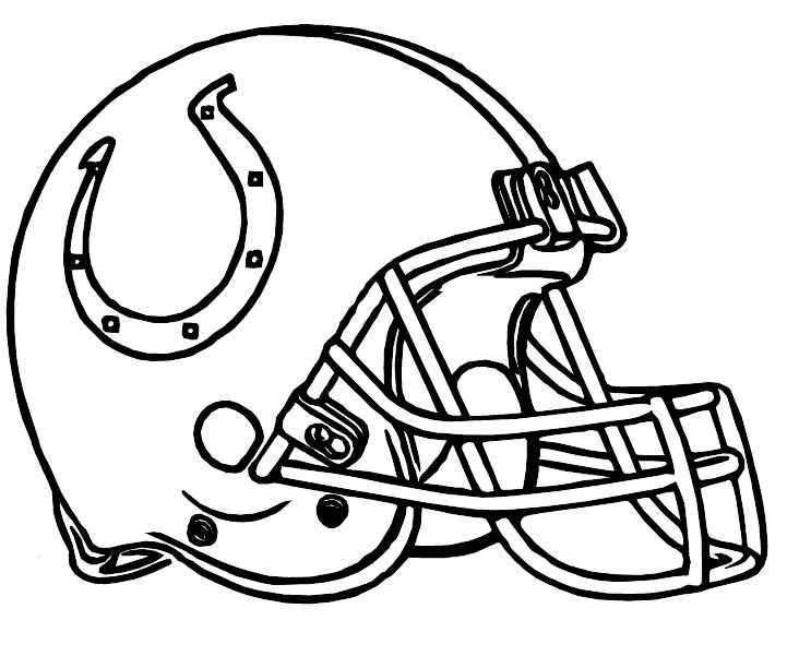 Colts Indianapolis Helmet Coloring Pages Coloring pages