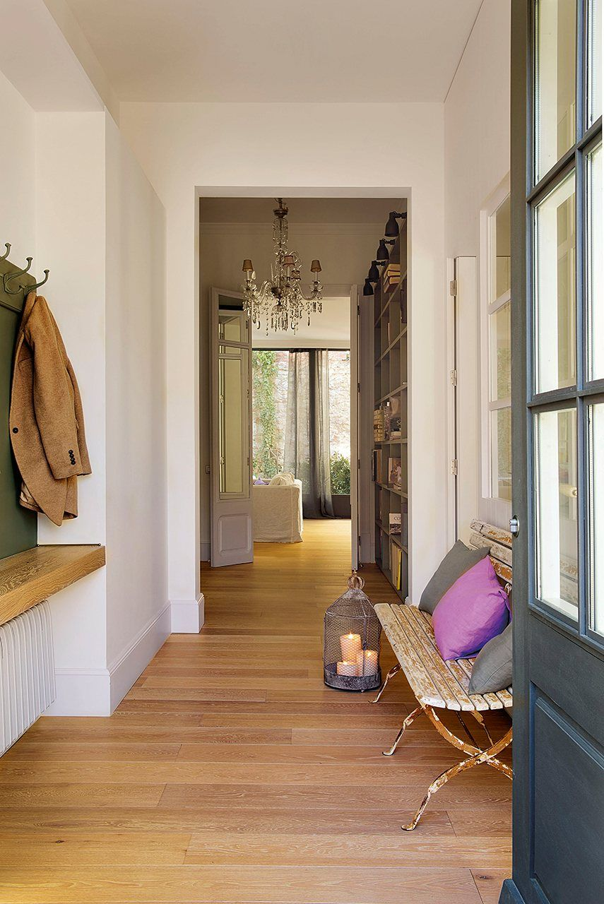 ideas para la decoracin de una entrada de casa
