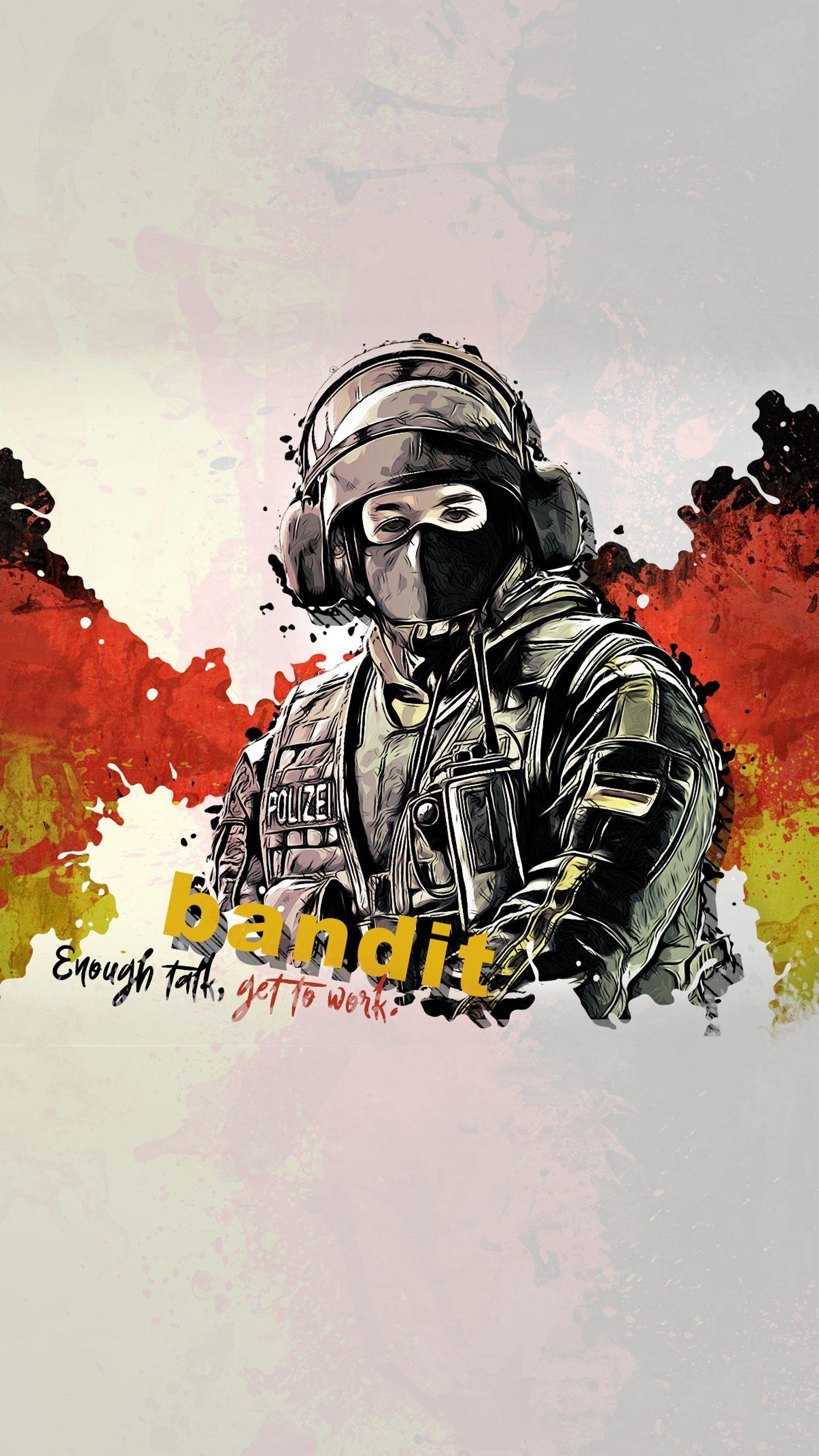 Bandit Rainbow Six Siege Art