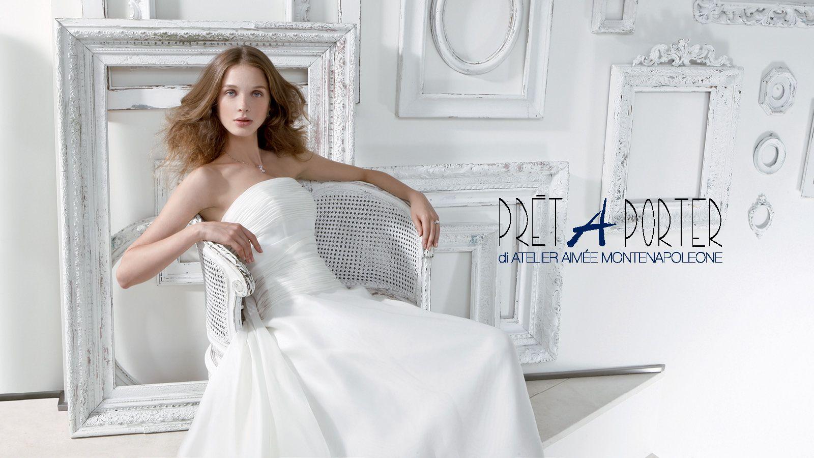abito da sposa atelier aimée - Audrey Collection
