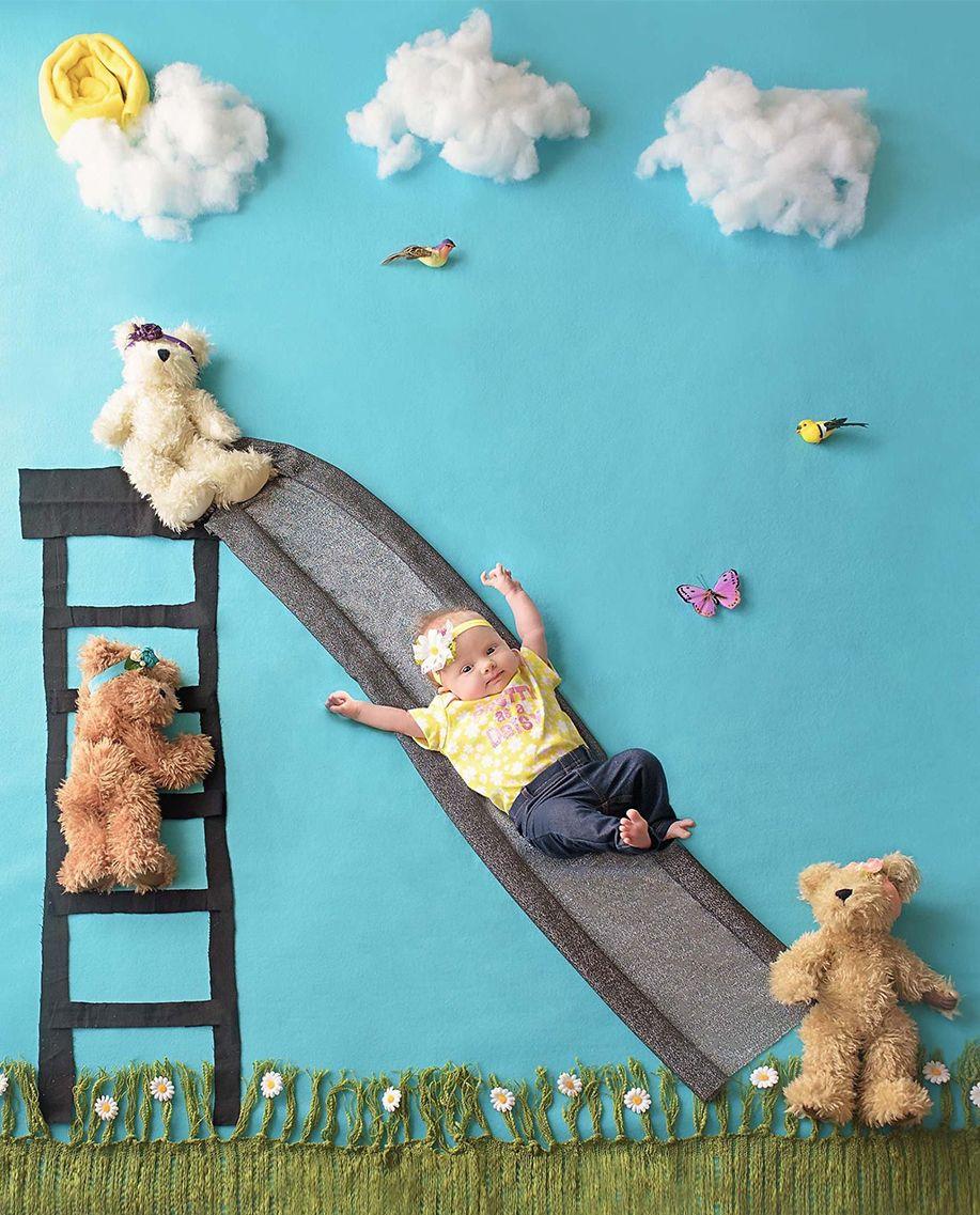 Bebek Aylık Konseptleri için Harika 30 Fikir - Bebek Resimleri #bebekresimleri #bebek #bebekfotograflari #bebekaylikkonseptleri