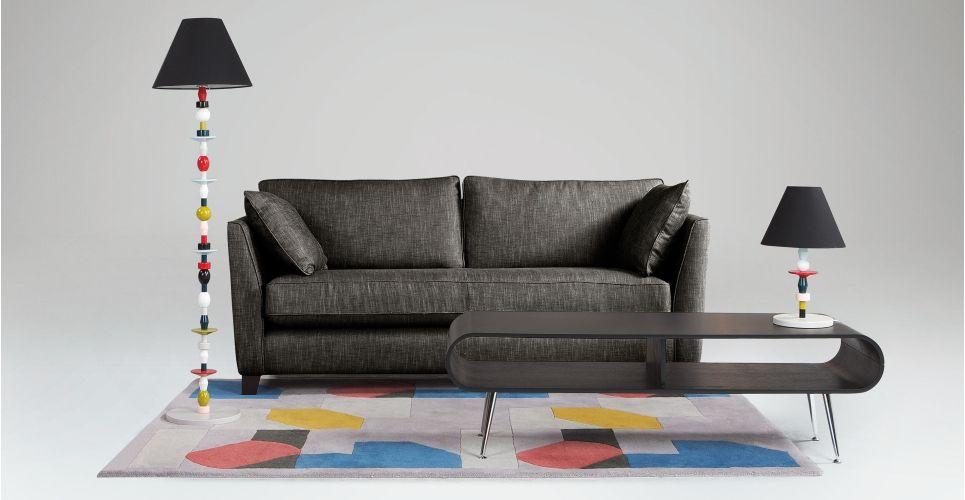 Wolseley 3 Seater Sofa, Arran Dark Grey | made.com
