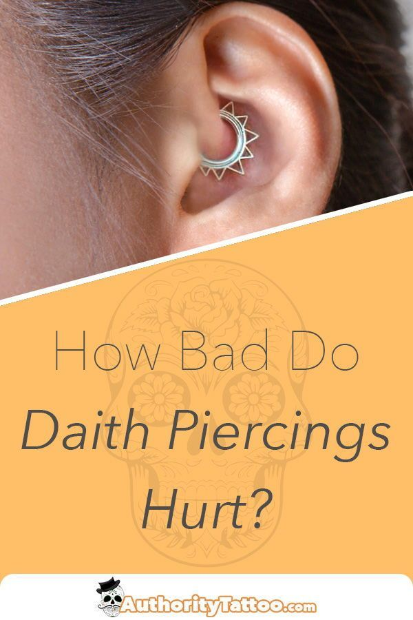 This article explains everything you need to know about daith piercing pain, inc…