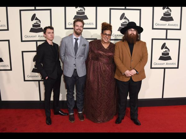 2016 Grammy Awards Red Carpet Live.