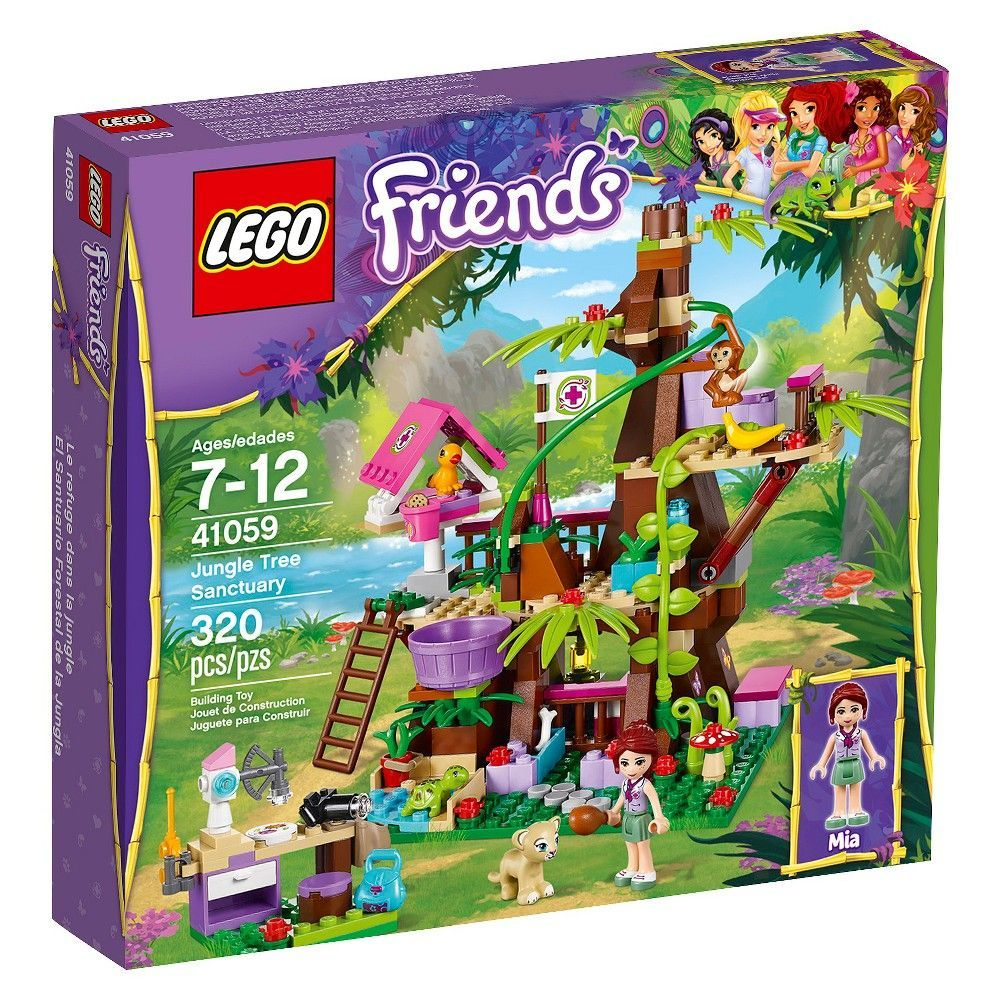 Lego Friends Jungle Tree Sanctuary 41059 Lego Friends Lego Friends Sets Top Holiday Toys