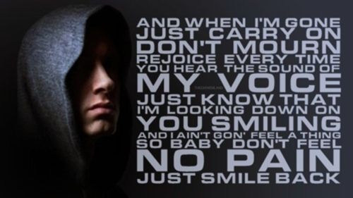 When I M Gone Eminem Amazing Song But Aren T They All Eminem Quotes Go For It Quotes Cool Lyrics