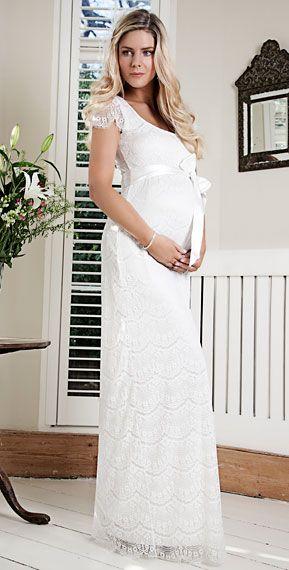 43ea7fc97 Hermoso vestido para la futura mamá