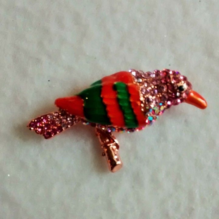 multicolor parrot brooch from Dynasty Jewelry for $15.00 on Square Market