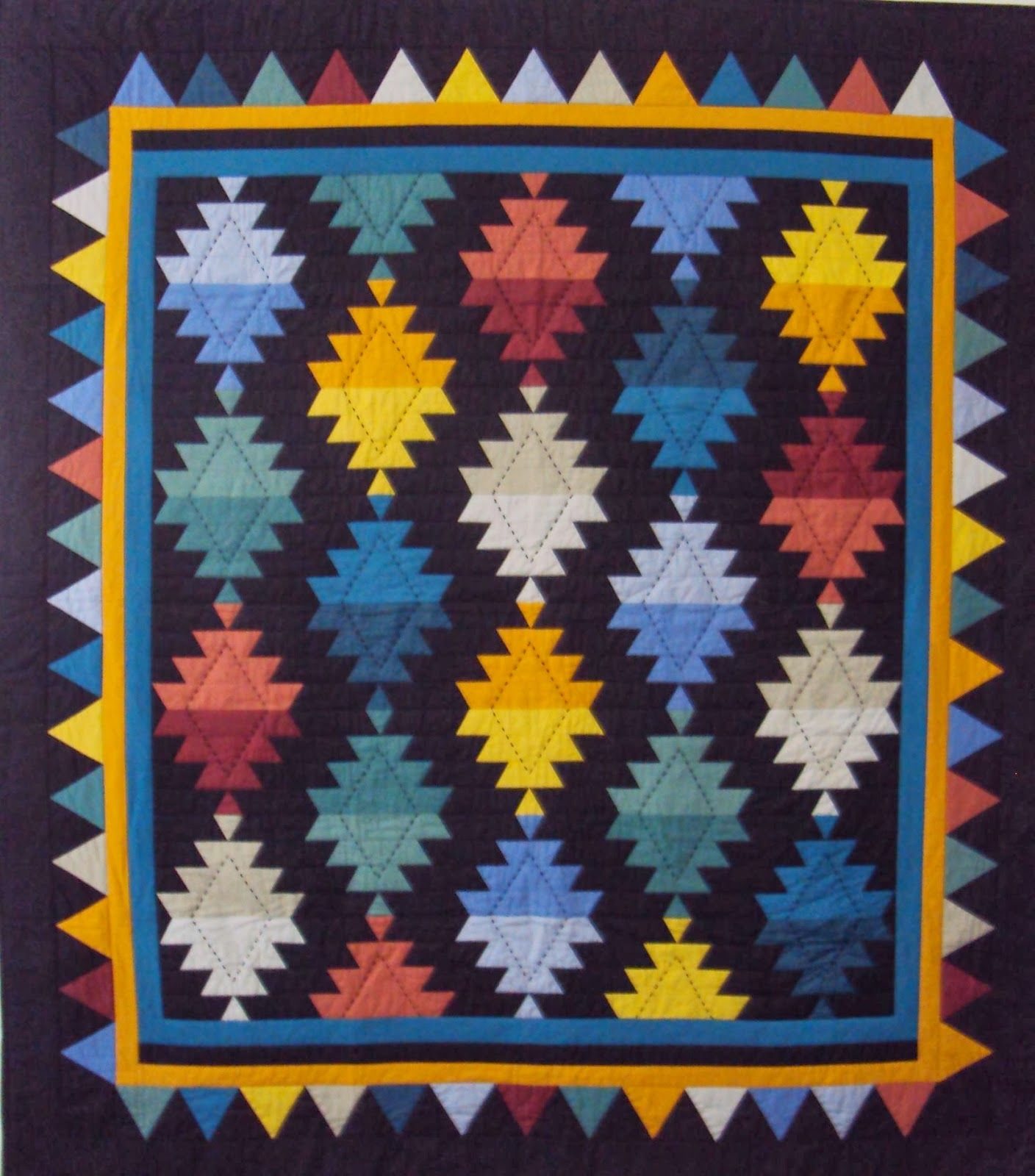 Chinese Lantern Quilt Patterns Kaleidoscope Stars
