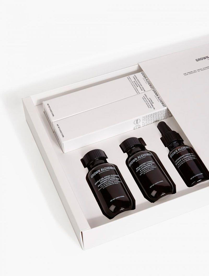 GROWN ALCHEMIST  Facial Kit | Package//Label//Font//Product