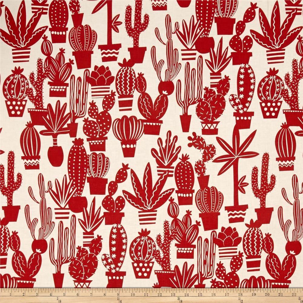 Alexander Henry June Bug Agave Tea/Red from