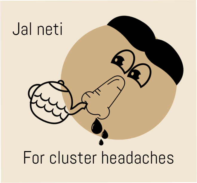Jal neti is the most popular natural remedy for sinus headaches. This technique can also be used for other type of headaches like migraine and cluster headaches ... http://headaches17.info/category/cluster-headaches/