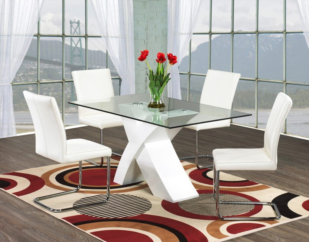 How To Choose Modern Glass Dining Table Modern Glass Dining