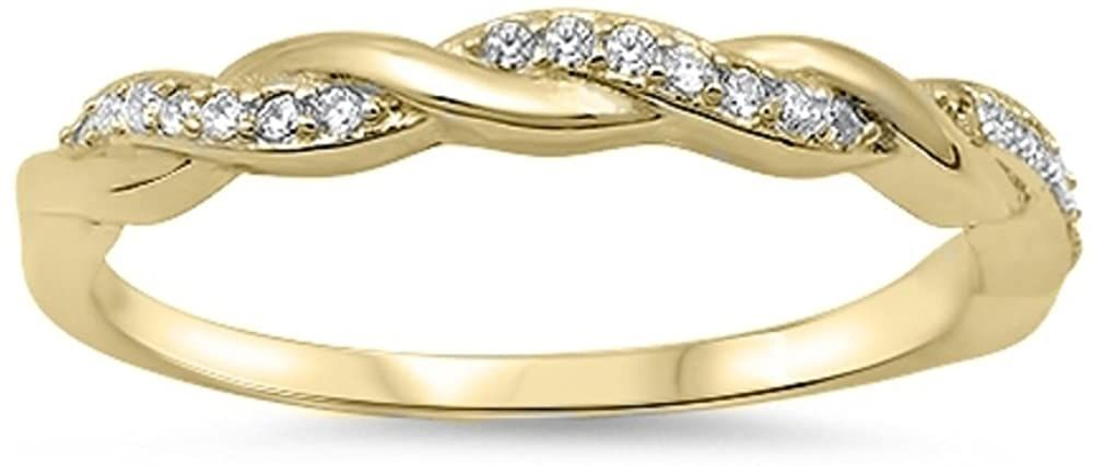 CloseoutWarehouse Polished Sterling Silver Ingraved Purity Band Ring