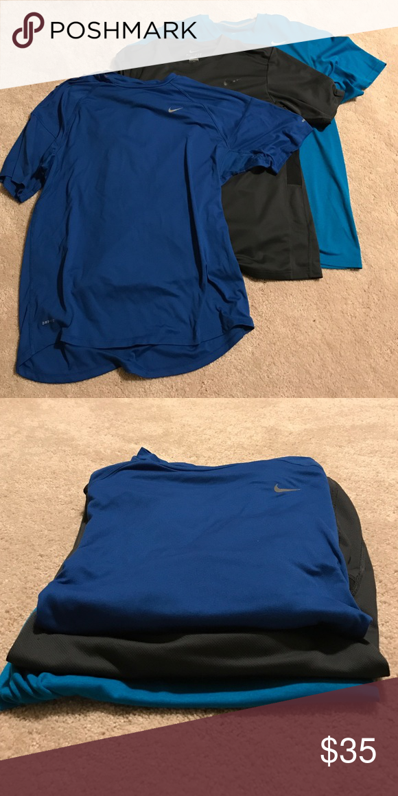 7ffbe3af6342a Men's Nike dri-fit short sleeve training tees