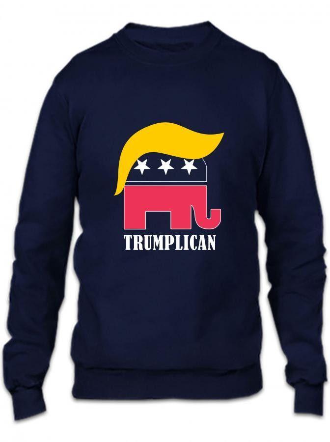 trumplican funny Crewneck Sweatshirt