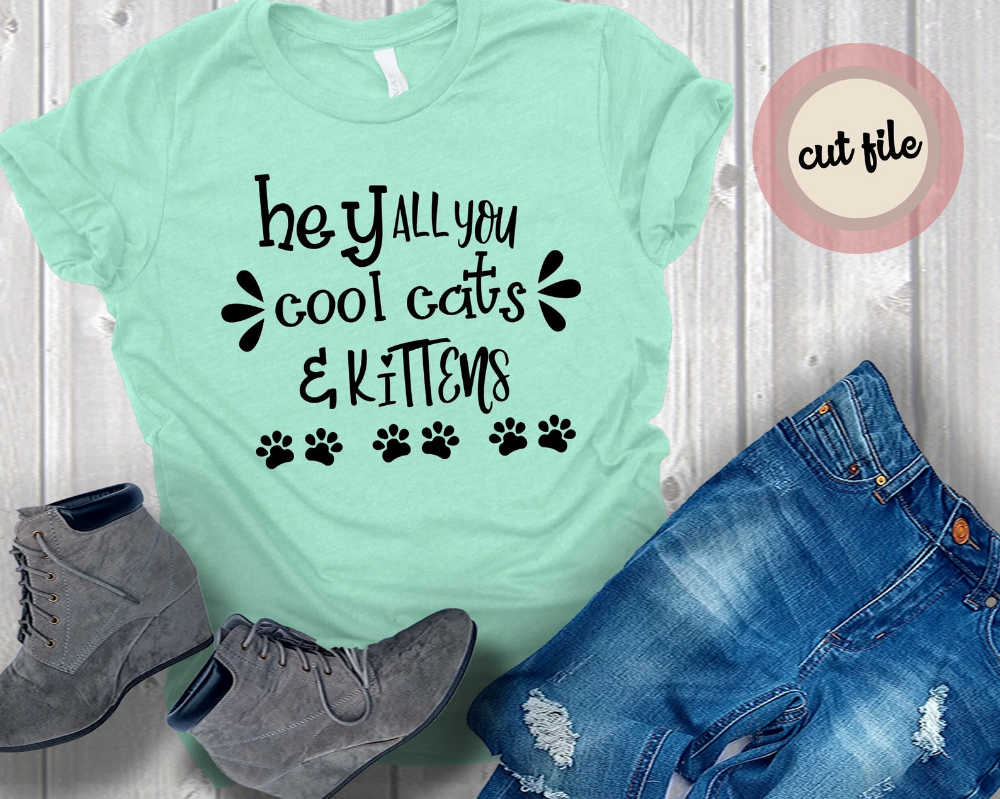 Tiger King Hey All You Cool Cats And Kittens Svg Hilarious Etsy In 2020 Digital Design Cool Cats Unique Items Products
