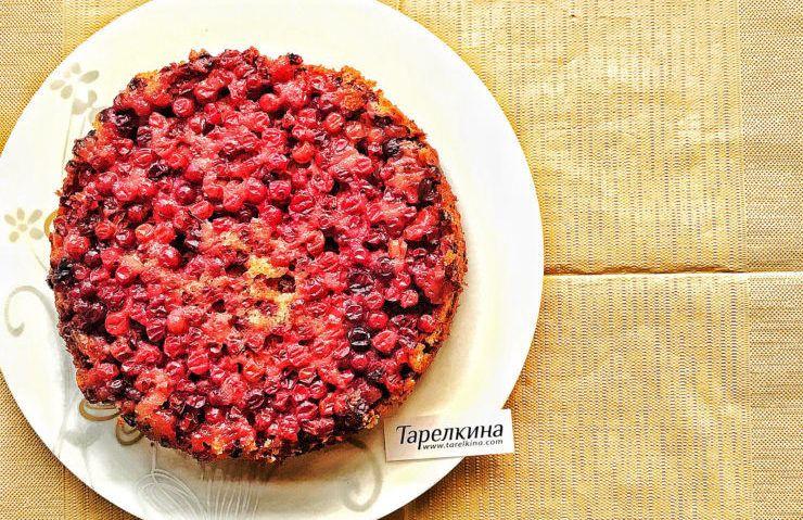 Этот пирог - просто бомба! Невероятно вкусное тесто, которое дополняет пикантность и кислинка клюквы.