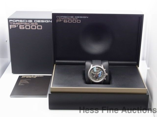 Near Mint Porsche Design Date Chronograph P6000 Mens Automatic Watch w Box  sc 1 st  Pinterest & Near Mint Porsche Design Date Chronograph P6000 Mens Automatic ... Aboutintivar.Com