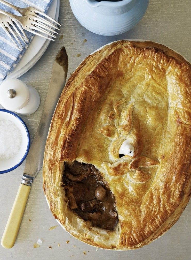 A great steak pie has a rich, well flavoured filling and a ...