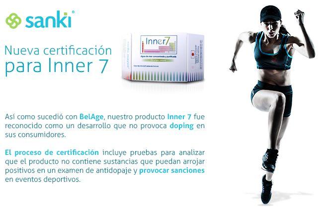 Inner7 no provoca doping