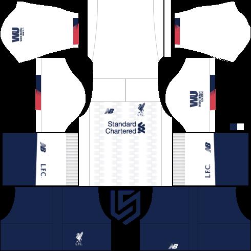Liverpool Kit 2019 2020 Dream League Soccer 2019 Ristechy Liverpool Kit Liverpool Team Liverpool