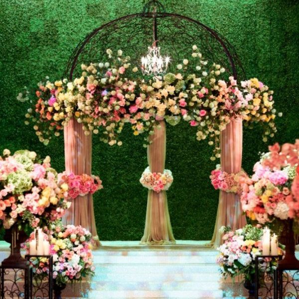 Wedding Altar Backdrops: 20 Eye-Catching Ideas For Your Ceremony Backdrop