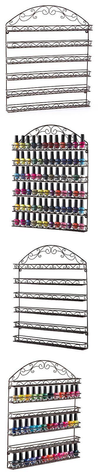 Nail Practice and Display: Home-It Nail Polish Rack Nail Polish ...