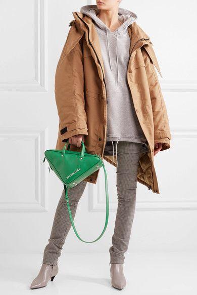 Balenciaga - Duffle Small Leather Tote - Green