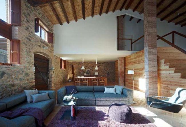 Casa rustica moderna 1 espais pinterest estilo - Casas rusticas mallorca ...