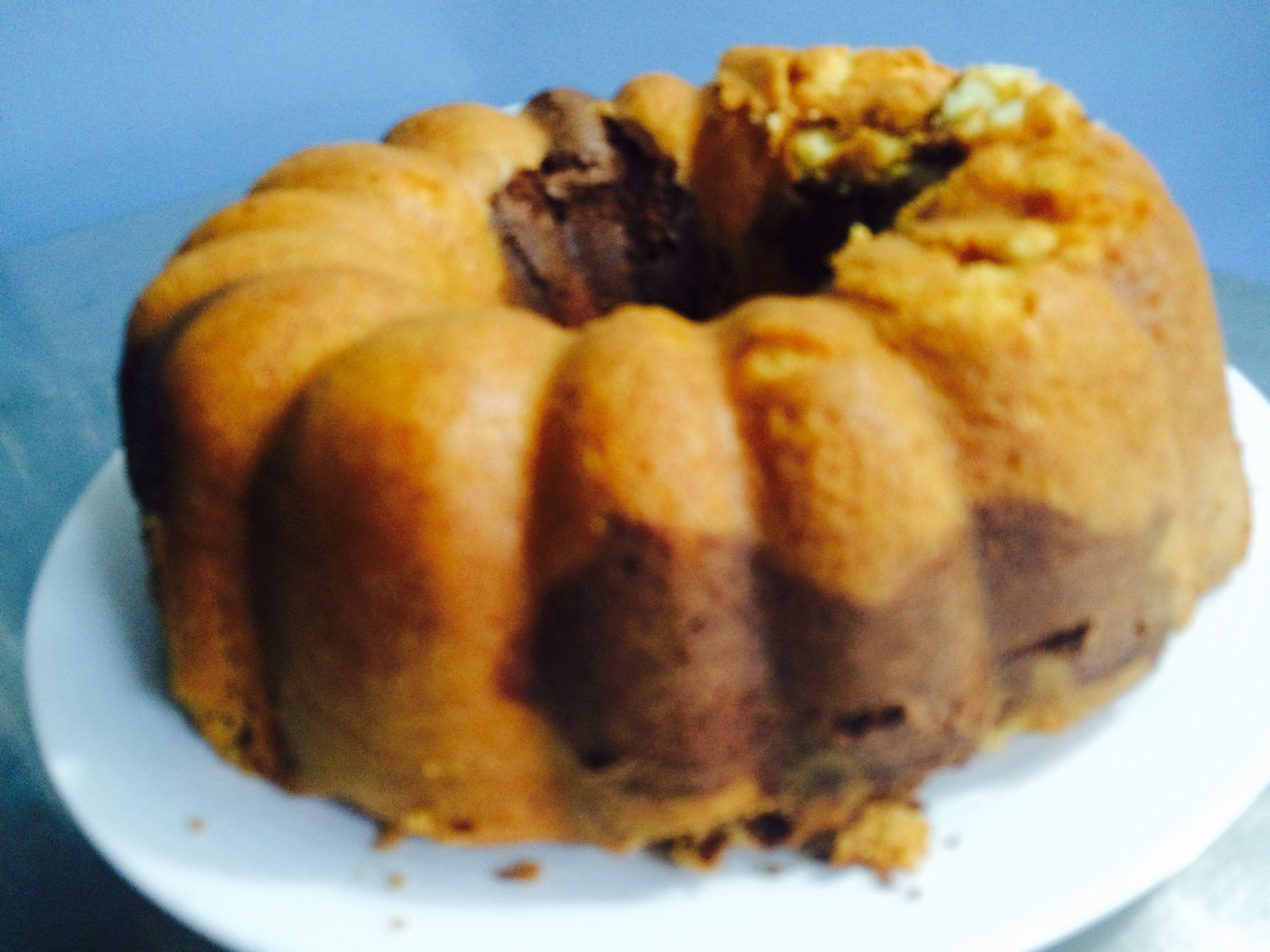 Rosca Vainilla con Chocolate