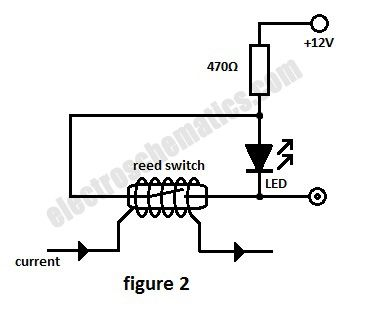 Reed Switch As A Current Monitor Control Circuit Circuit Diagram Seekic Co Electronics Projects For Beginners Circuit Diagram Electronic Circuit Projects