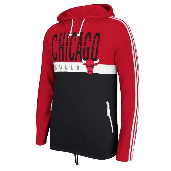 ac2d47c94 Chicago Bulls vintage hoody sweatshirt from Adidas Originals! - This  pullover hoody features front embroidered and printed team graphics,  vintage Adidas ...