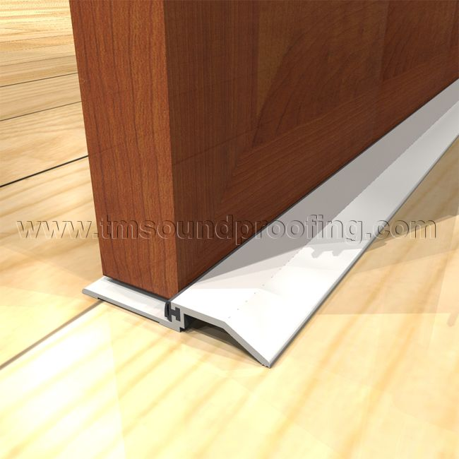 Perfect Soundproof Door Saddle, With Clearance   Trademark Soundproofing