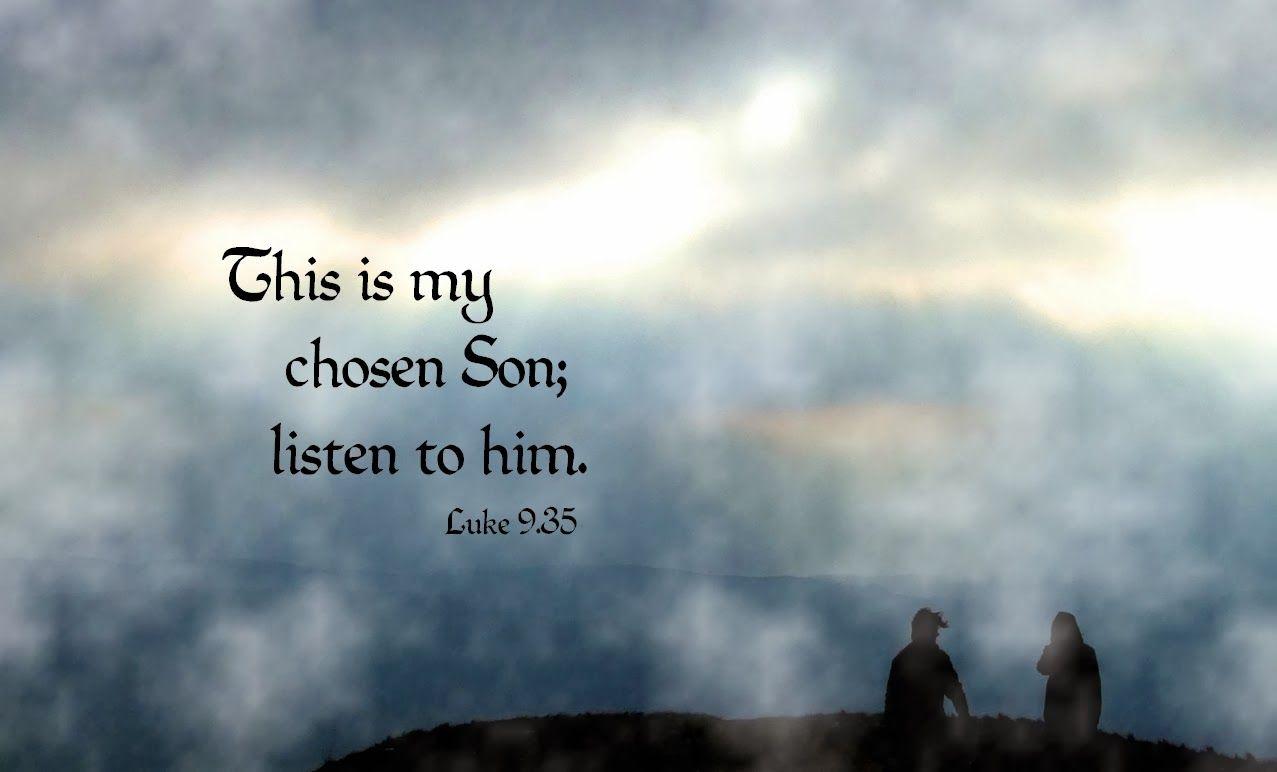 Image result for free photo of Luke 9: 28-36