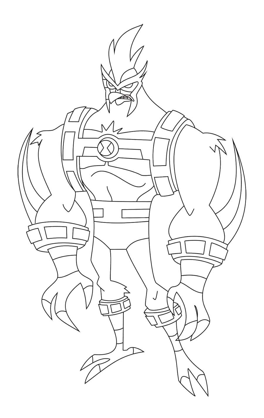 Kickin It Coloring Pages