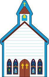 Large Notepad - Church (SE-158)