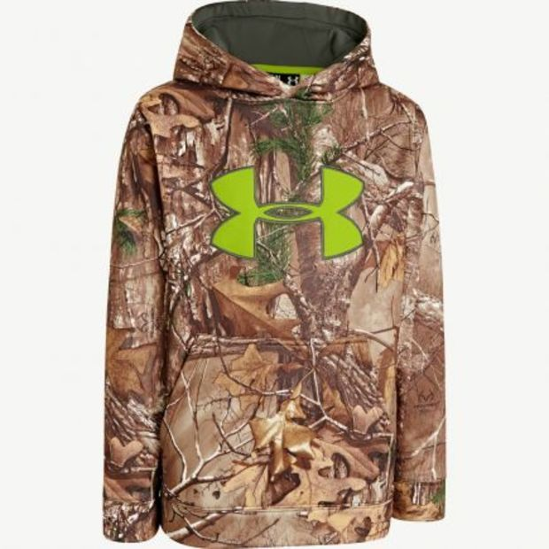 youth under armour hunting jacket