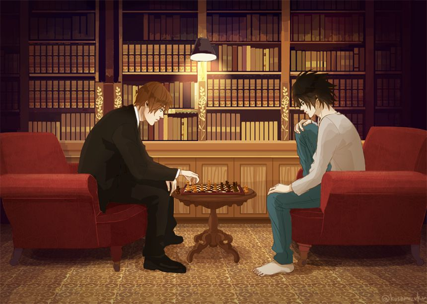 My Illustration Photo Death Note L Death Note Death Note Light